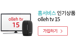 홈서비스 인기상품 olleh tv 15