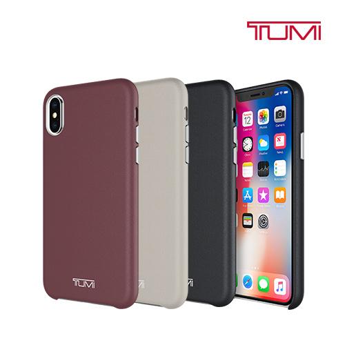 [TUMI] 투미 아이폰X 범퍼 케이스 레더랩 TUIPH-035