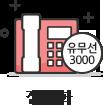 집전화 유무선3000