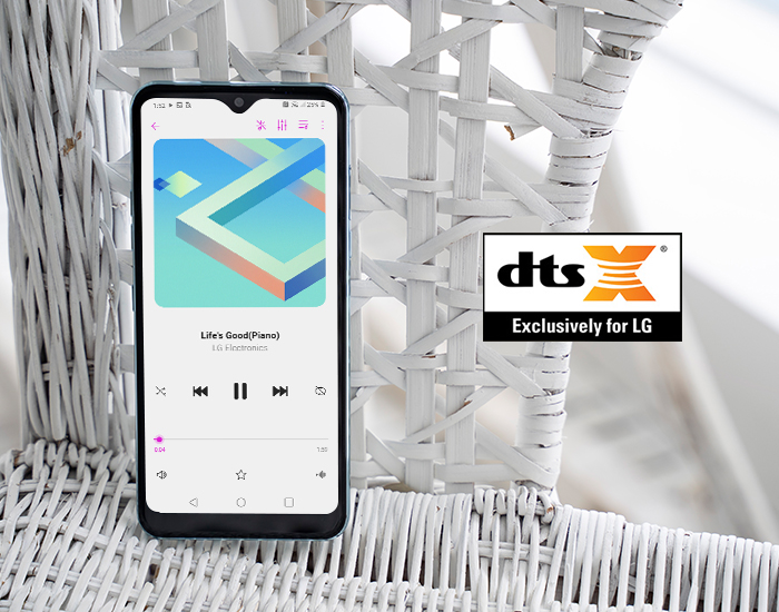 dts X Exclusively for LG