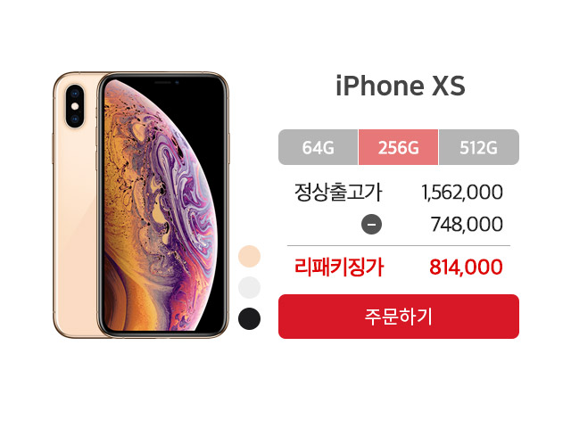 아이폰xs 256GB