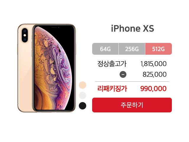 아이폰xs 512GB
