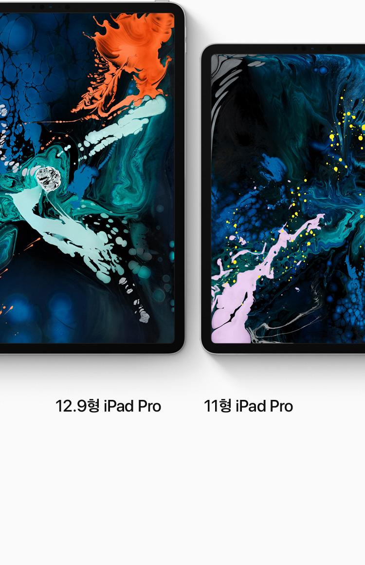 12.9형 iPad Pro, 11형 iPad Pro