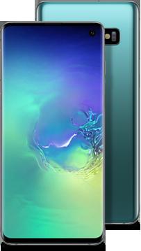 Galaxy S10 green