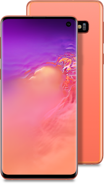 Galaxy S10 pink