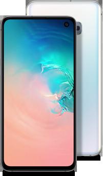 Galaxy S10e white