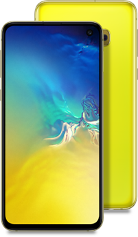 Galaxy S10e yellow