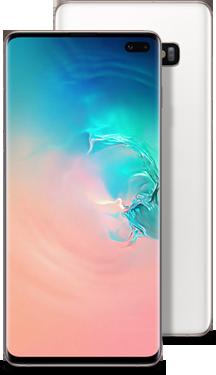 Galaxy S10+ white