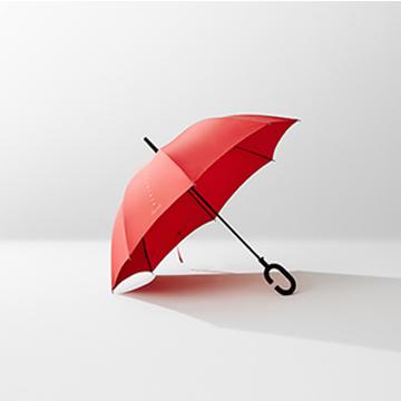 [폰브렐라] ★ 디자인 혁신★ kt 아이디어 상품 폰브렐라 우산 (색상 랜덤 배송)