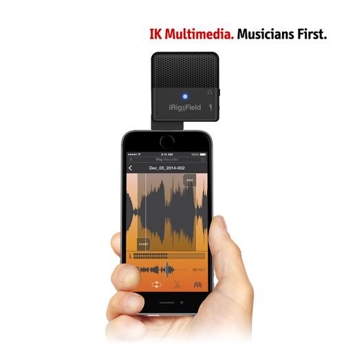 [노마진] [IK MULTIMEDIA] iRig Mic Field [iOS용 디지털 스테레오 마이크로폰]