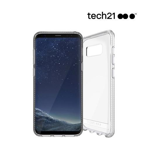 [Tech21] 쿠폰존10%할인 테크21 갤럭시 S8 PURE CLEAR 충격보호 케이스