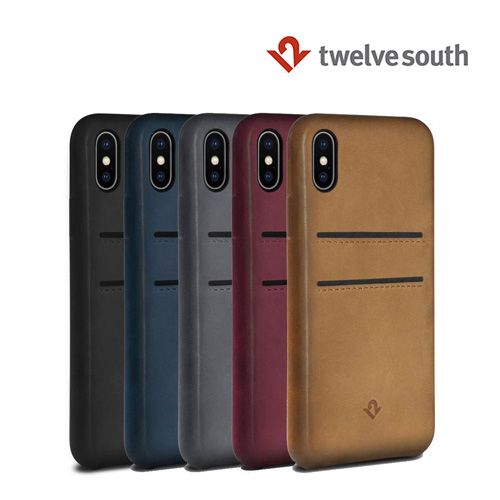 [Twelve South] 트웰브사우스 아이폰X Relaxed Leather case w/pockets 케이스