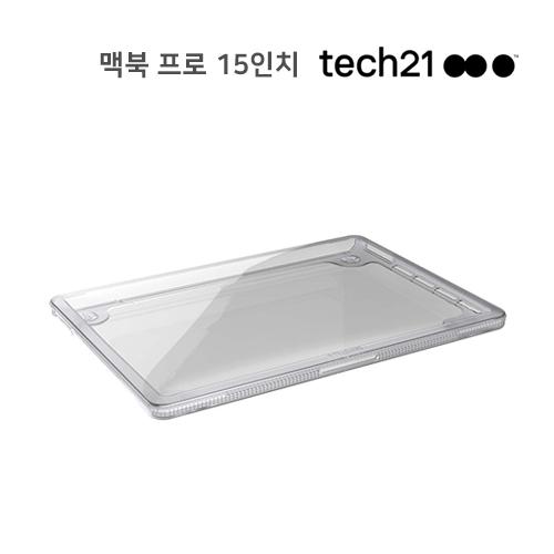 """[Tech21] 쿠폰존10%할인 테크21 맥북 프로 15"""" PURE CLEAR 충격보호케이스"""