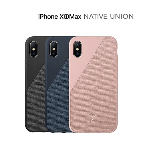 [Native Union] 네이티브 유니온 아이폰XS MAX 클릭 캔버스 케이스