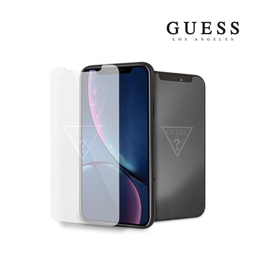 [GUESS] 게스 로고 아이폰11 강화유리필름 (XR호환)