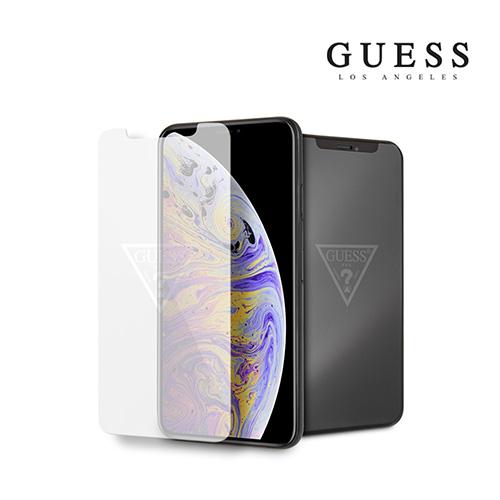 [GUESS] 게스 로고 아이폰11프로맥스 강화유리필름 (XsMAX호환)