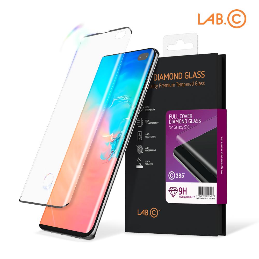 [기획할인] [LAB.C] 랩씨 갤럭시S10 플러스 풀커버 액정보호 강화유리필름