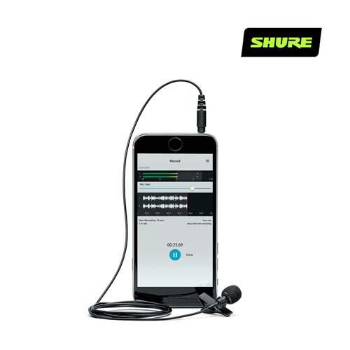 [SHURE] 슈어 MVL 스마트폰 핀 마이크