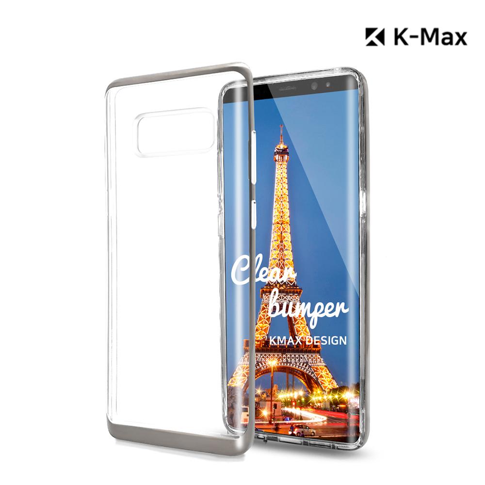 [K-MAX] 갤럭시 S10 플러스 투명 클리어 범퍼 케이스/레인보우 홀로그램 후면필름 포함