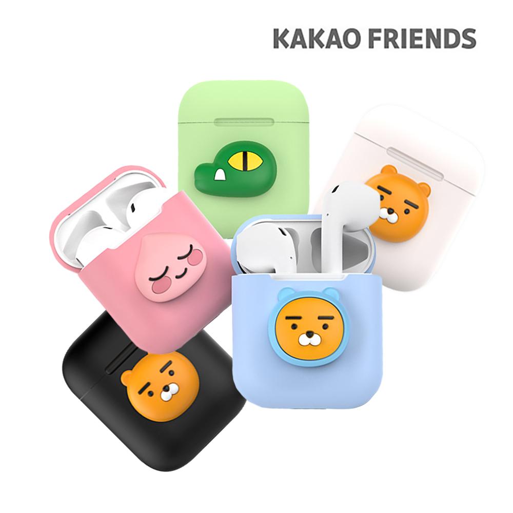 [카카오프렌즈] 애플 에어팟 실리콘 케이스/특수 코팅