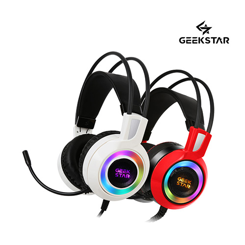 긱스타 GH50 가상7.1 진동 RGB LED 게이밍 헤드셋