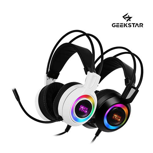 긱스타 GH60 리얼 7.1 진동 RGB LED 게이밍 헤드셋