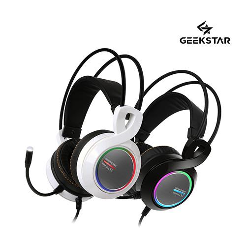 긱스타 GH700 가상7.1 진동 RGB LED 게이밍 헤드셋