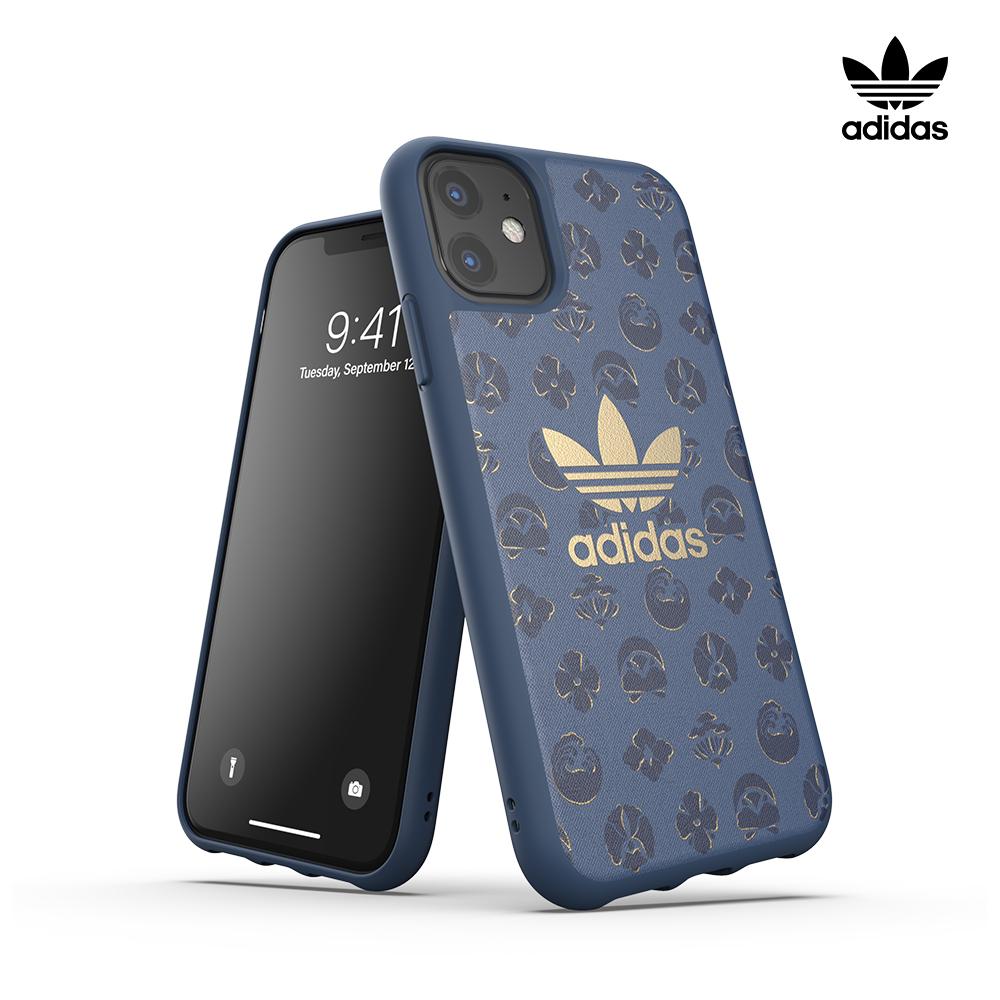 [ADIDAS] 아디다스 아이폰11 오리지널 클래식 로고 밴딩 범퍼 케이스