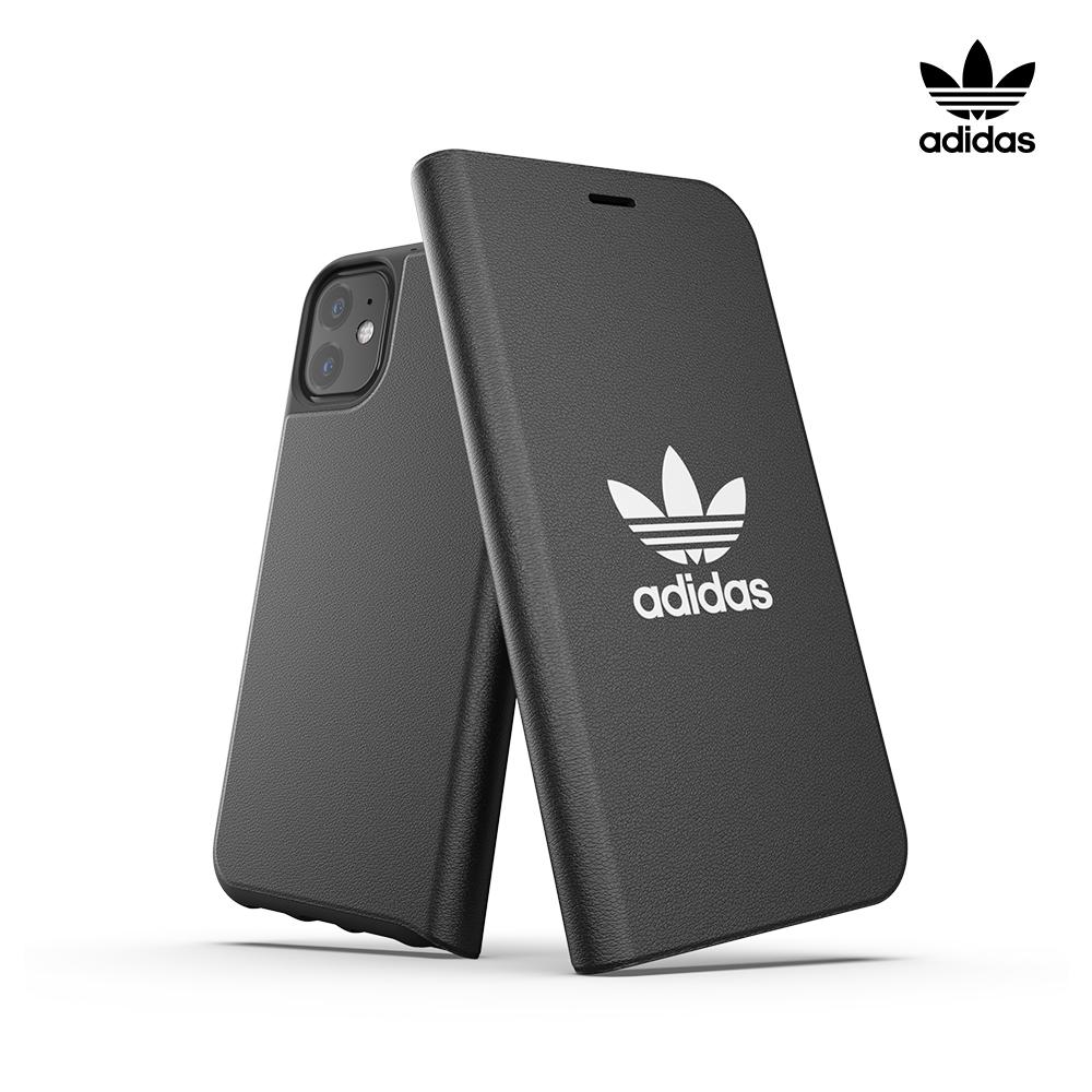[ADIDAS] 아디다스 아이폰11 오리지널 클래식 로고 부클릿 플립 케이스