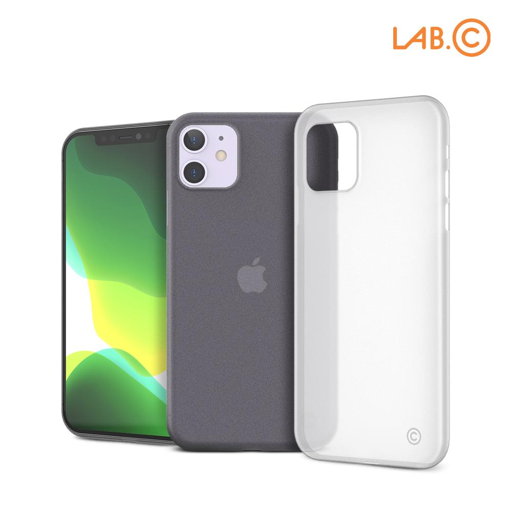 [LAB.C] 랩씨 아이폰11 0.4 슬림 반투명 범퍼 케이스