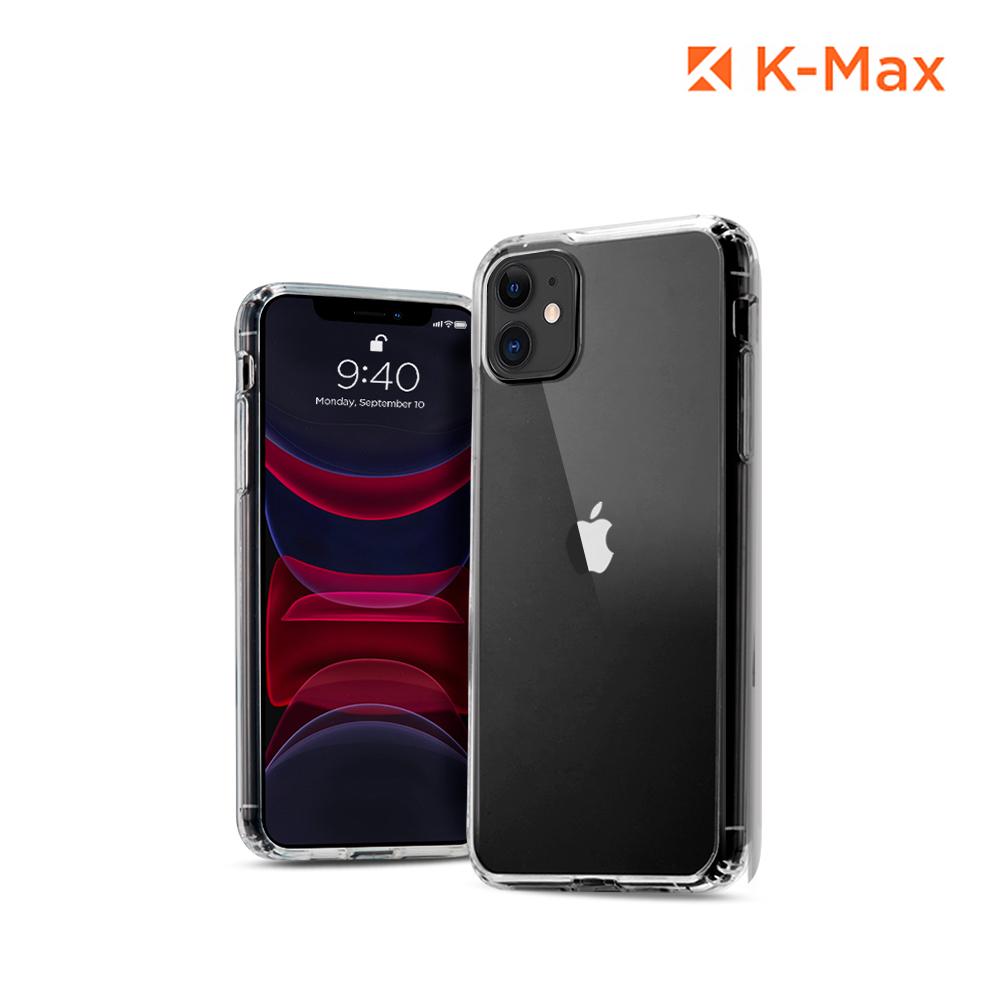 [K-MAX] 아이폰11 클리어 핏 투명 범퍼 케이스