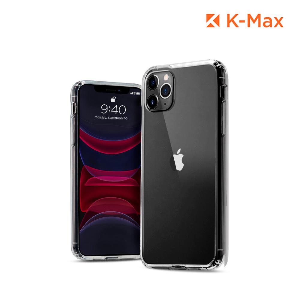 [K-MAX] 아이폰11 프로 Max 클리어 핏 투명 범퍼 케이스