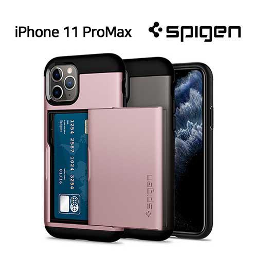 [슈피겐코리아] 아이폰11Pro Max 슬림아머CS 케이스