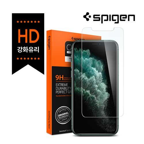 [슈피겐코리아] 아이폰11Pro/Xs 글라스 tR슬림HD 액정보호필름(1매)
