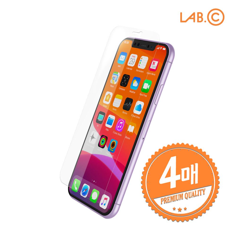 [LAB.C] 랩씨 아이폰11 이지스 풀커버 실드 우레탄 액정보호필름 4매입