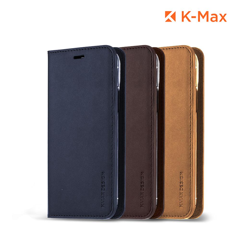 [K-MAX] 아이폰11 프로 Max 천연 소가죽 다이어리 지갑 케이스