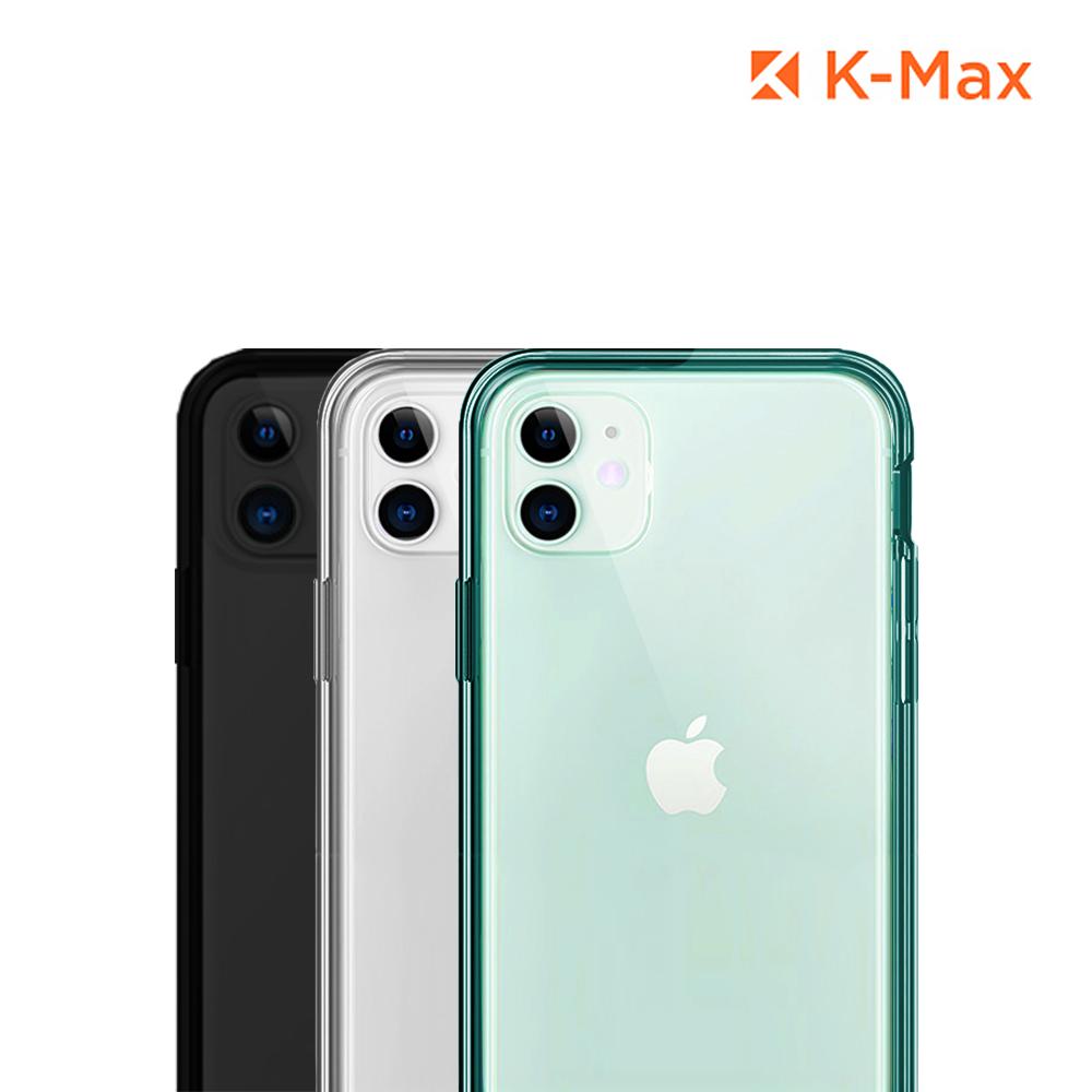 [K-MAX] 케이맥스 아이폰11 뉴 클리어 범퍼 하드 케이스